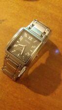 orologio uomo Animoo con datario bracciale acciaio - quadrante nero - A2492