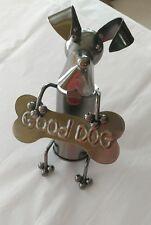"""Good Dog"" Metal Art 6 3/4 x 4 1/8"" Bottle Topper Absolutely Adorable!"