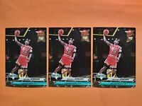 1992-93 Fleer Ultra NBA Jam Session Michael Jordan  #216   3 Card Lot