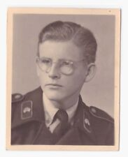 Original Photo Passeport Portrait Panzermann Heidelberg