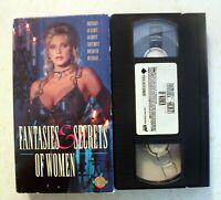 VHS: Fantasies & Secrets of Women: erotic rare Peach Entertainment