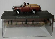 RARE FABBRI UH JAMES BOND 007 RANGE ROVER CONVERTIBLE OCTOPUSSY 1/43 BOX
