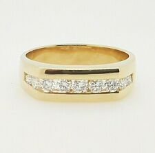 18ct Diamond Ring Yellow Gold with 9 Brilliant Cut Diamonds Pre-Owned VAL $3100