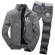 2017 Winter Men Sport Warm Coat Athletic Apparel Suit Sets Casual Jacket Pants
