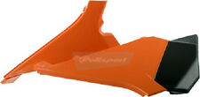 Polisport Air Box Covers Plastic Orange Left and Right both KTM 8403000003