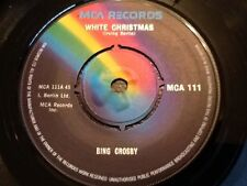 BING CROSBY . WHITE CHRISTMAS . / GOD REST YE MERRY GENTLEMEN . MINT UNPLAYED .