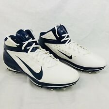 Nike Alpha Talon Elite Football Cleats 14.5 Blue White NOS