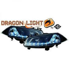 Scheinwerfer Set für Renault Megane 2002-2005 Klarglas/Schwarz Dragon Lights