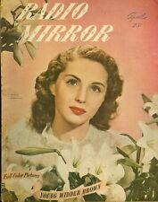 1947 Radio Mirror Magazine: Susan Douglas - Mademoiselle X/Young Widder Brown