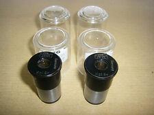 2x ocular oculares-cmpleto 8x 10x18 Carl Zeiss Germany para microscopio microscopios