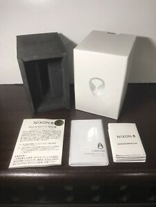 NIXON Time Teller Series Empty White Watch Display Box Only