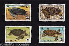 Anguilla - 1983 Turtles (WWF) - U/M - SG560-3