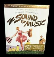 The Sound of Music 50th Anniversary 5-Disc Blu-ray Edition Sealed
