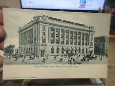 A Vintage Old OHIO Postcard Cleveland United States Post Office & Customs House