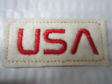 Team USA PATCH Snowboard Winter Olympic Womens Hat PATCH NASA STYLE LETTERS