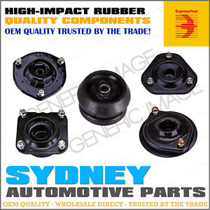 PAIR Front Strut Top Mounts + Bearings Ford KA TA TB 1.3L 4Cyl 11/99 - 12/03