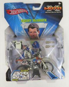 2002 Mattel Hot Wheels MotoX Motocross Supercross Jeremy McGrath NIB