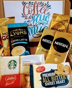 Latte - Coffee Hamper- Birthday - Anniversary All Occasions Letterbox Gift