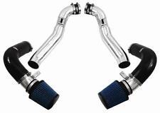 Injen Kit de Inducción doble aire frío toma De Aire - 07-09 plata de finales de Nissan 350Z HR