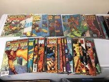 Lot Of 40 Iron Man Comics! Vol 1 2 & 3 Marvel Comics NM Heroes Reborn