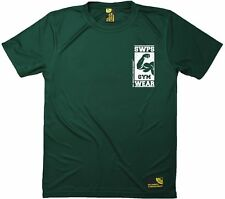 SWPS - Bicep Logo - Premium Dry Fit Breathable Sports T-SHIRT