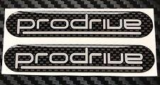 Prodrive Subaru Impreza GB270 -  Rear Wing Carbon Design Domed Gel Badges X 2