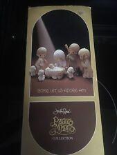 Precious moments nativity scene Come Let Us Adore Him, 9pcs in original Box