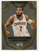 2014-15 PANINI SELECT KYRIE IRVING PREMIER BASE CARD #125 (CLEVELAND CAVALIERS)