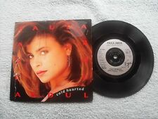 "PAULA ABDUL COLD HEARTED VIRGIN AMERICA RECORDS UK 7"" VINYL SINGLE in PIC/SLEEVE"