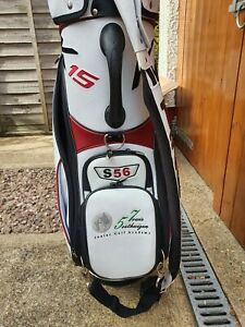 Ping K15 Tour Golf Bag Signed by Louis Oosthuizen