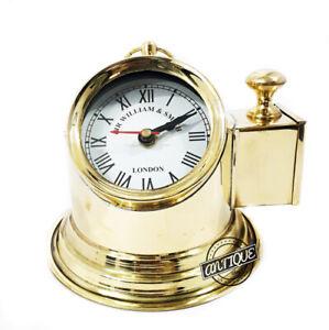 Portable Clocks For Home/Garden/Office Vintage Binnacle Ship Figurine Shelf Clok