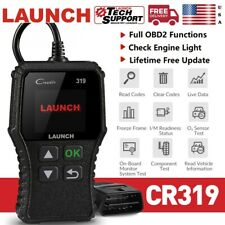 LAUNCH CR319 OBD2 Code Reader Scanner Car Check Engine Fault DTC Diagnostic Tool