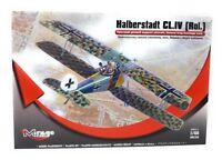 Mirage Hobby Kunststoff Modellbausatz 1:48 Flugzeug Halberstadt CL 4 Rol.