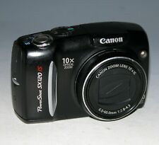 Canon PowerShot SX120 IS 10.0MP Digital Camera - Black #1071