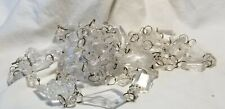 """102"""" acrylic plastic clear chain garland prism"""