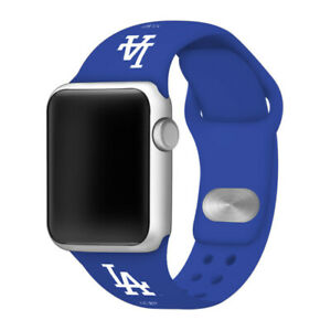Los Angeles Dodgers Silicone Sport Band Compatible with Apple Watch