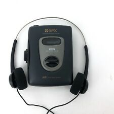Gpx C3038M Portable Stereo Cassette Player With Bass Boost System Headphones