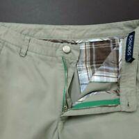 Bonobos Mens pants Athletic straight Size 31 cotton Flat Front