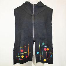 NWT N...P Naturalnie...Podlasek Plus Zip Vest Sweater wool XXL fits 1X 2X EU