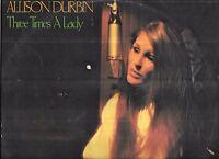 Allison Durbin - Three Times A Lady - Aussie country LP + CD-R backup