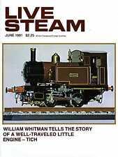 Live Steam V15 N 6 June 1981 A Well-Traveled Little Engine - Tish
