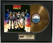 "KISS - DESTROYER 12"" LP 24KT GOLDENE SCHALLPLATTE #14"