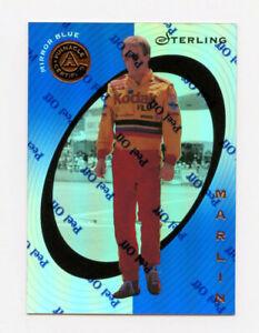 Sterling Marlin 1997 Pinnacle Certified Mirror Blue Parallel Insert Card 1:199#4