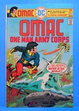 OMAC (One Man Army...Corps) #7 of 8 1974/1975 DC Comics JACK KIRBY-w,a,c,e