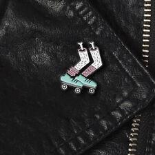 Unisex Cartoon Skate Foot Bone Enamel Brooch Pin Collar Shirt Backpack Badge Top