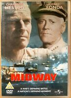 Midway DVD 1976 World War II 2 Film Movie Classic with Charlton Heston Battle of