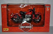 1:18 Harley Davidson 1948 FL Panhead Motorcycle Series 5