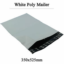 100 Poly Courier Bags Plastic Mailing Satchel Self Sealing Mailers 350mmx525mm