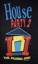 1992 House Party II 2 T-Shirt vintage 90s Kid 'n Play Rap movie promo hip-hop XL