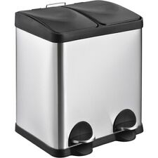House & Home Compartment Bin 30L - Silver